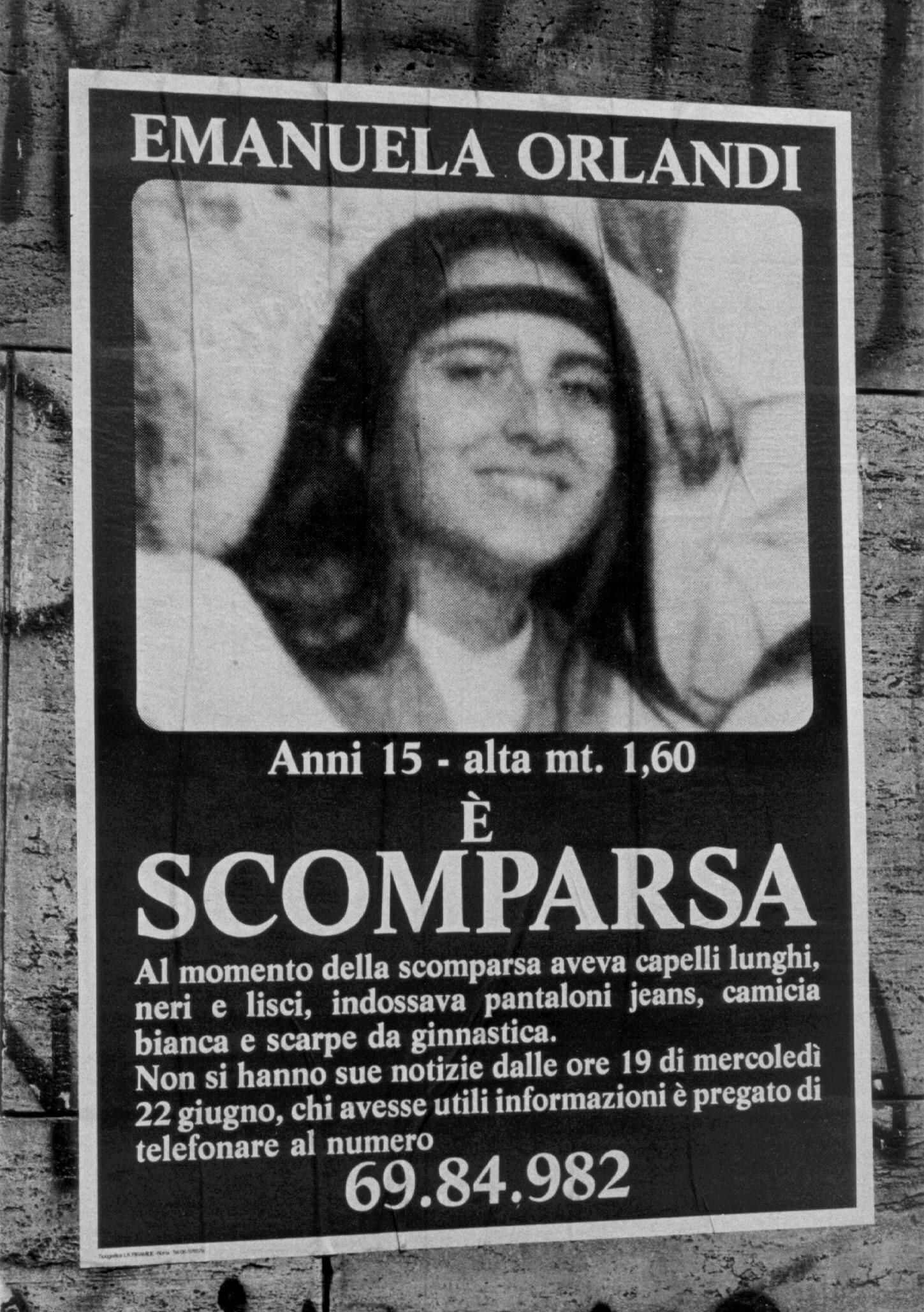 Emanuela Orlandi, la adolescente cuyos huesos podrían develar un caso de corrupción, abuso de menores y mafia en el Vaticano