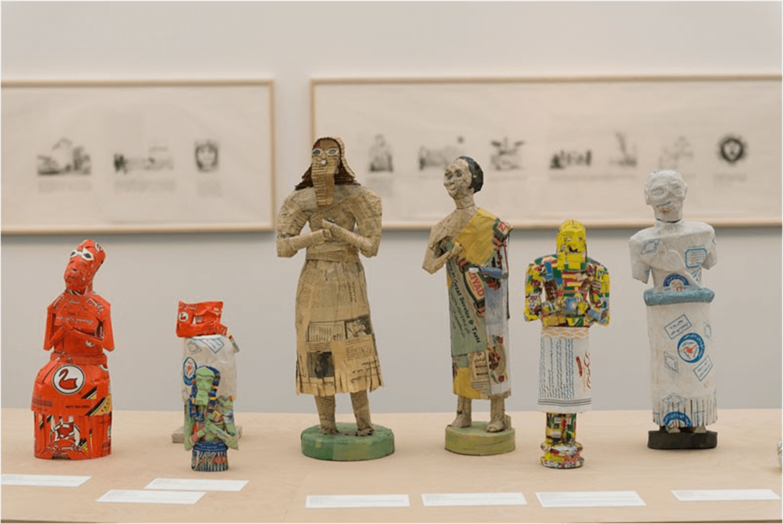 "Michael Rakowitz, ""The Looting"".Imagen: Shanghai Biennale"
