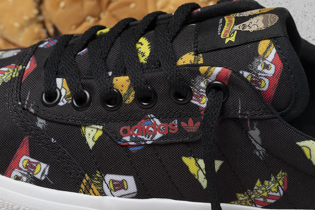 adidas x Beavis & Butthead. Imagen: adidas/MTV