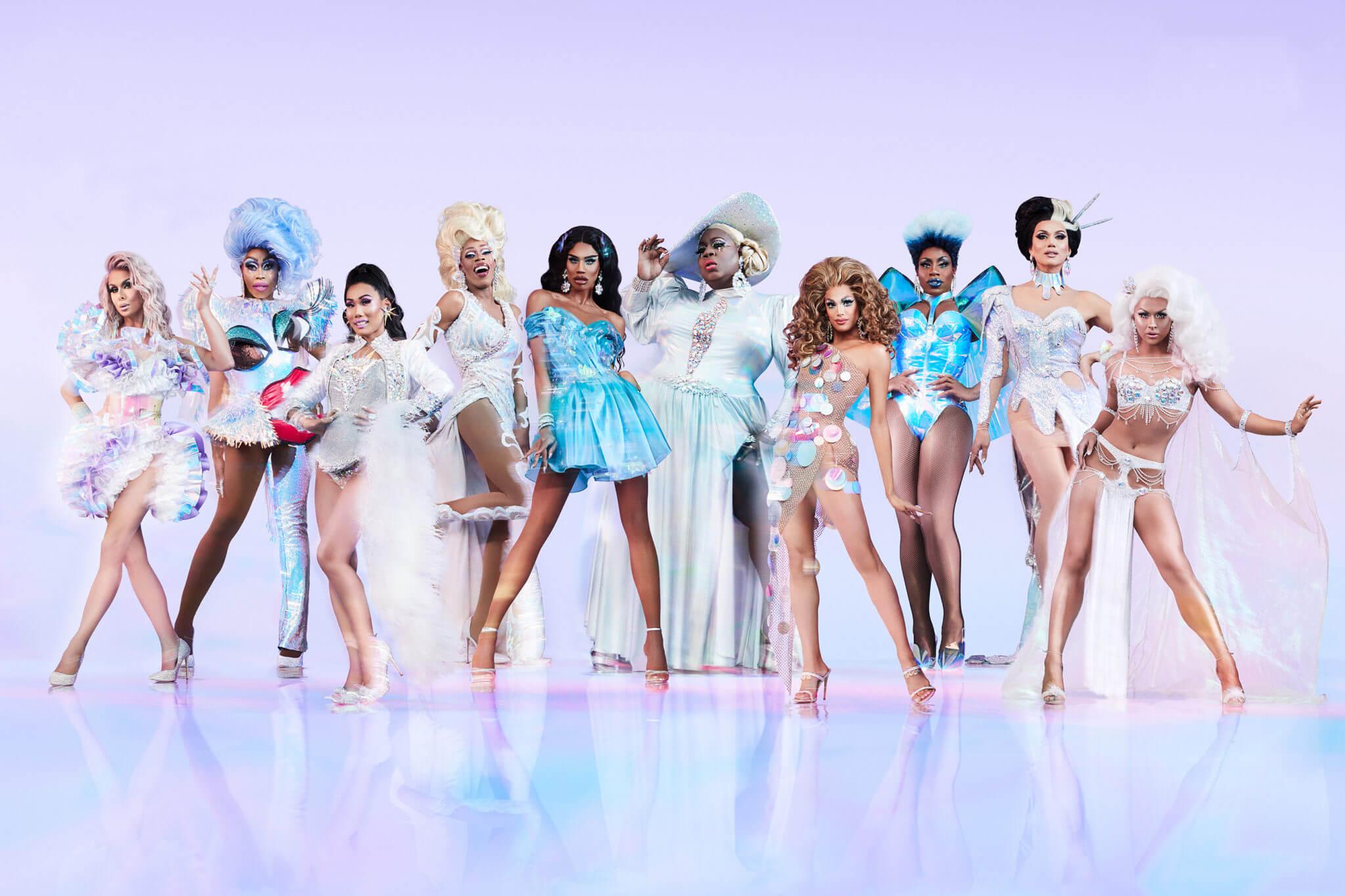 El elenco completo del RuPaul's Drag Race All Stars 4. Fotografía: EW