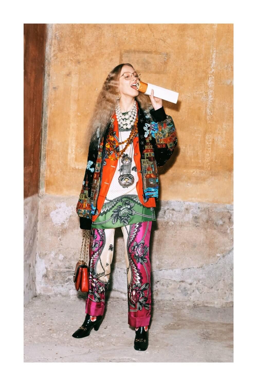 Gucci Pre-Fall 2019. Fotografía: Harmony Korine/Cortesía Gucci