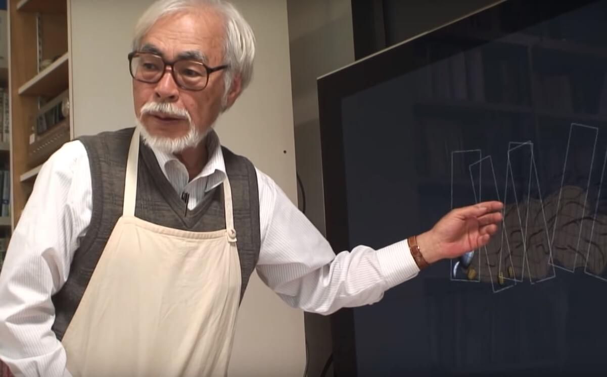 """Hayao Miyazaki se encuentra con Boro, su nuevo personaje, en este clip del documental """"Never-Ending Man"""""""