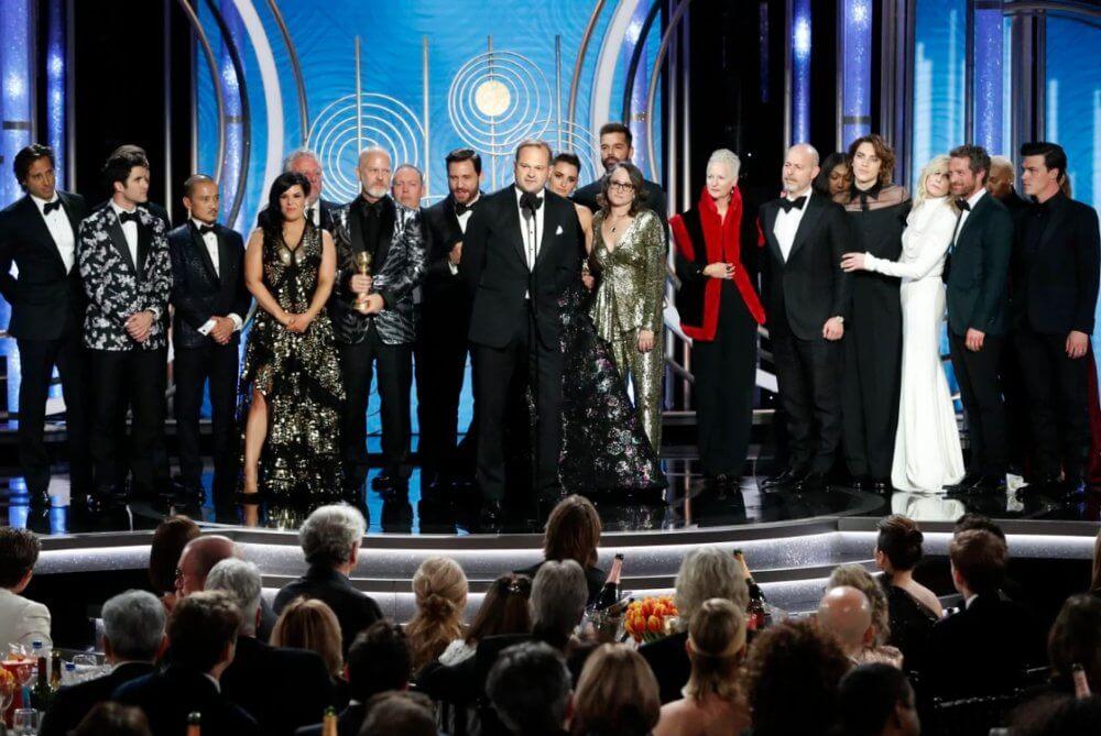 El equipo de The Assassination of Gianni Versace: American Crime Story. Imagen: Getty