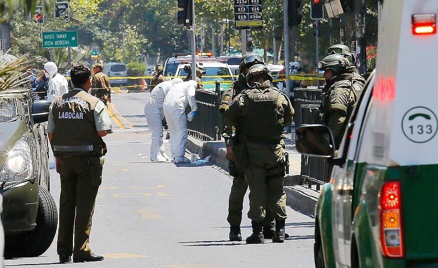 Grupo eco-terrorista se adjudicó atentado en Santiago que dejó 5 heridos