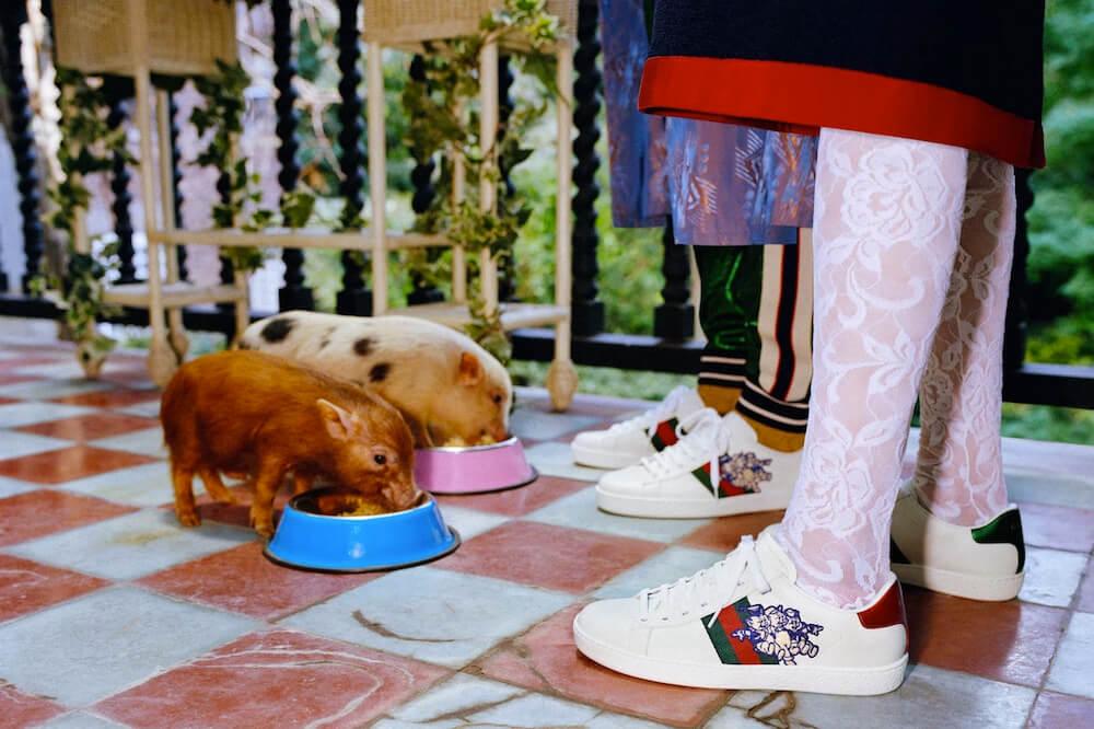 El Año Nuevo Chino llega a Gucci con una cápsula llena de cerditos fashionistas