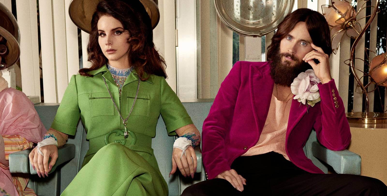 Lana Del Rey y Jared Leto se rodean de criaturas salvajes en la nueva campaña de Gucci