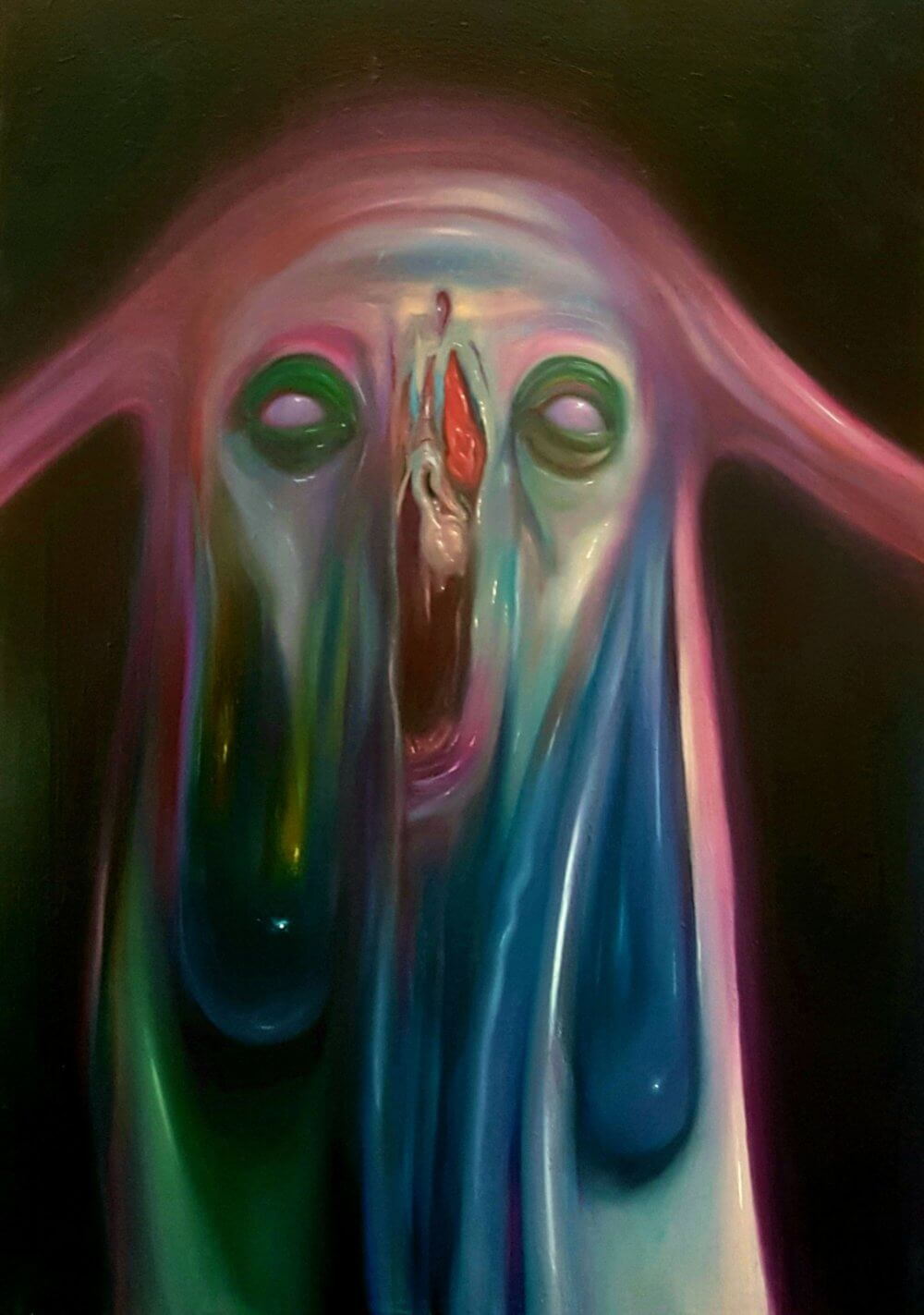 Pintura: Sam Bee