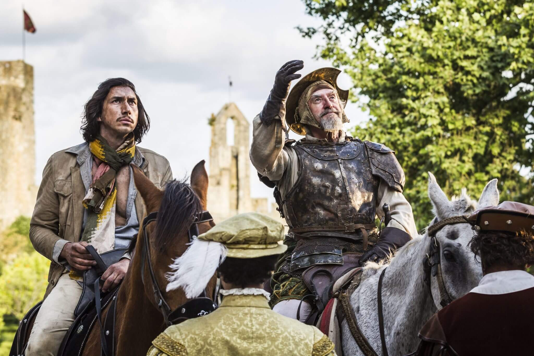"""The Man Who Killed Don Quixote"": Adam Driver y Jonathan Price viven la fantasía de Terry Gilliam en un nuevo trailer"