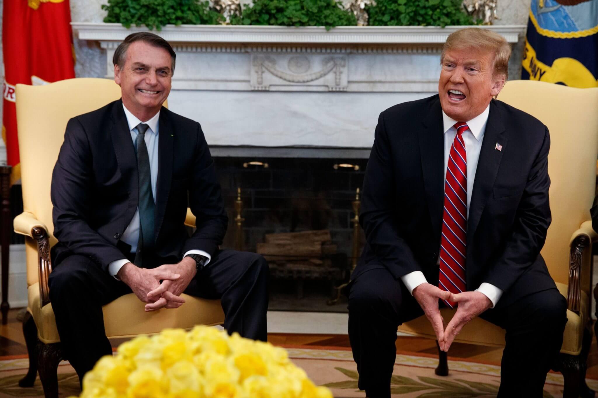 Las 6 claves de la primera reunión entre Donald Trump y Jair Bolsonaro en Washington