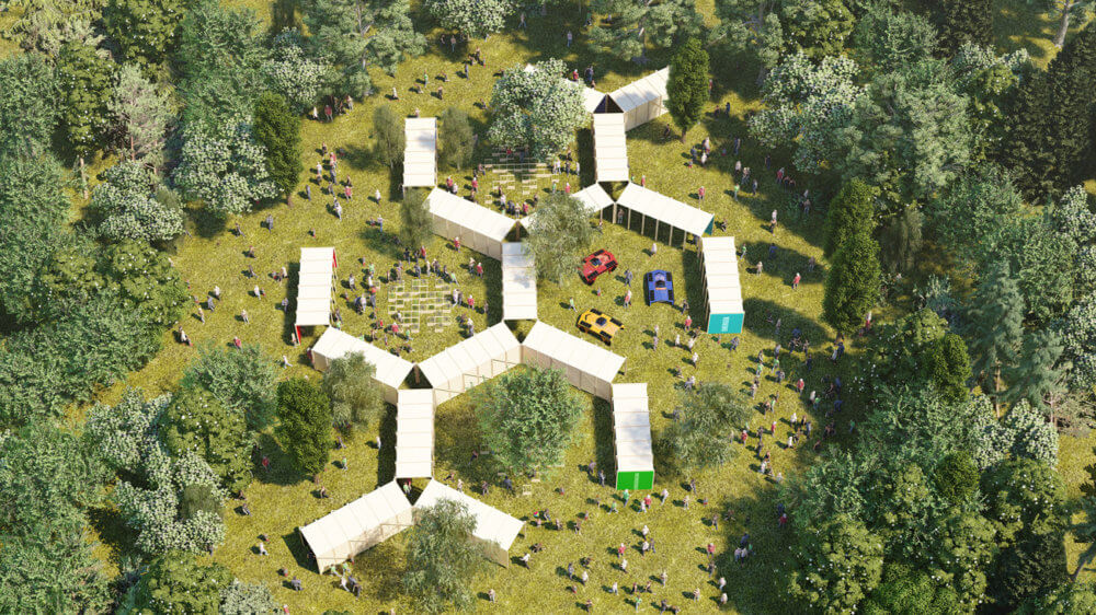 Expo Futuro Presente. Imagen: Lollapalooza