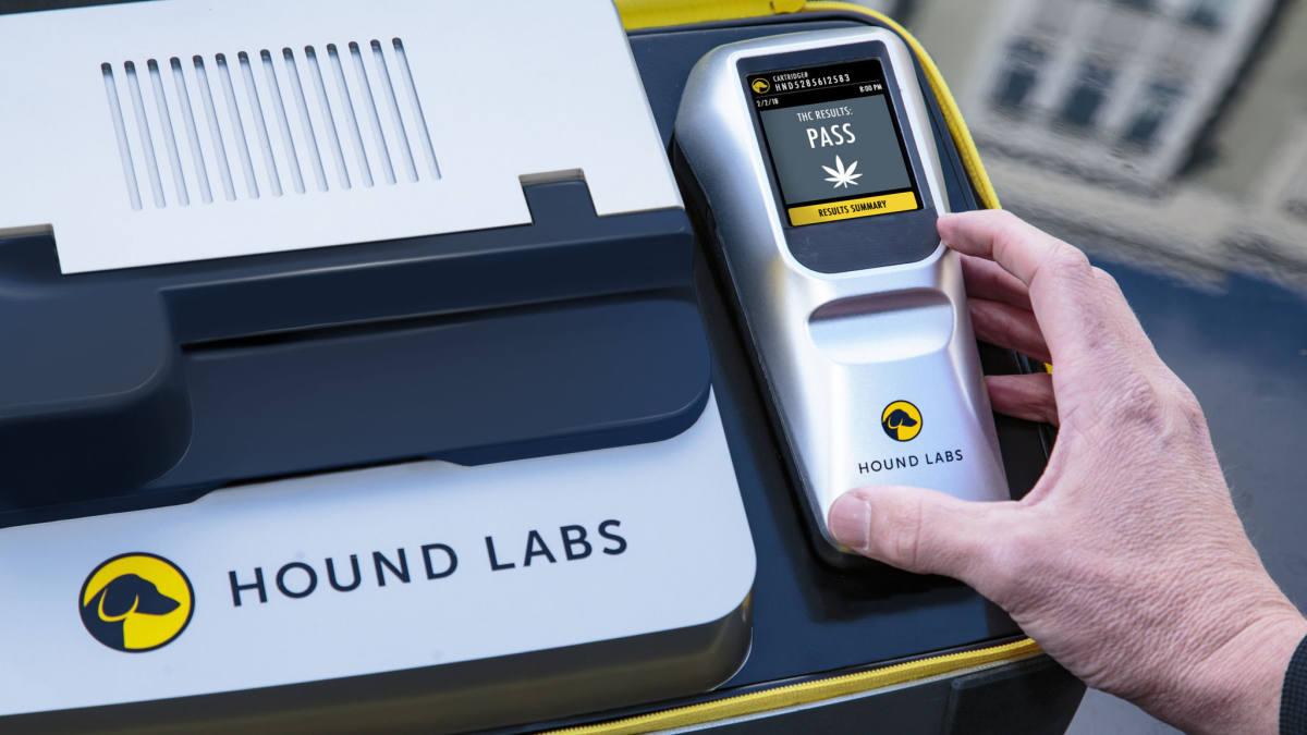 Este breathalyzer de marihuana analizará si la consumiste en las últimas 3 horas
