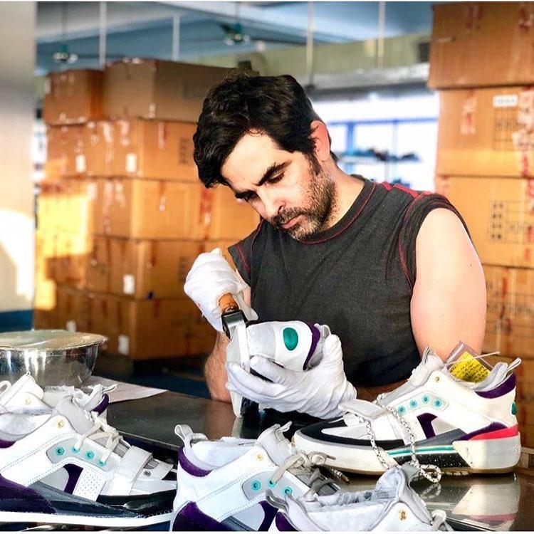 Daniel Spencer, el chileno que hace zapatillas de lujo para sneakerheads como  Virgil Abloh y Kanye West
