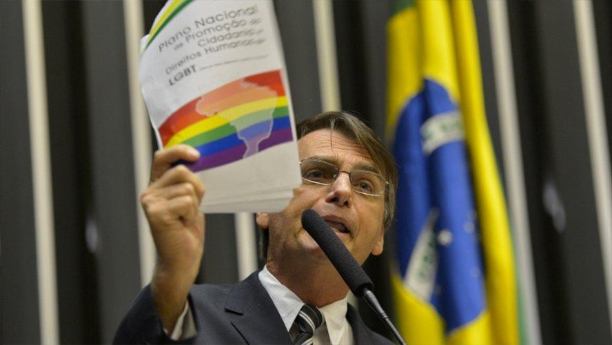 """Jair Bolsonaro: """"No podemos dejar que Brasil se convierta en un paraíso para el turismo gay"""""""