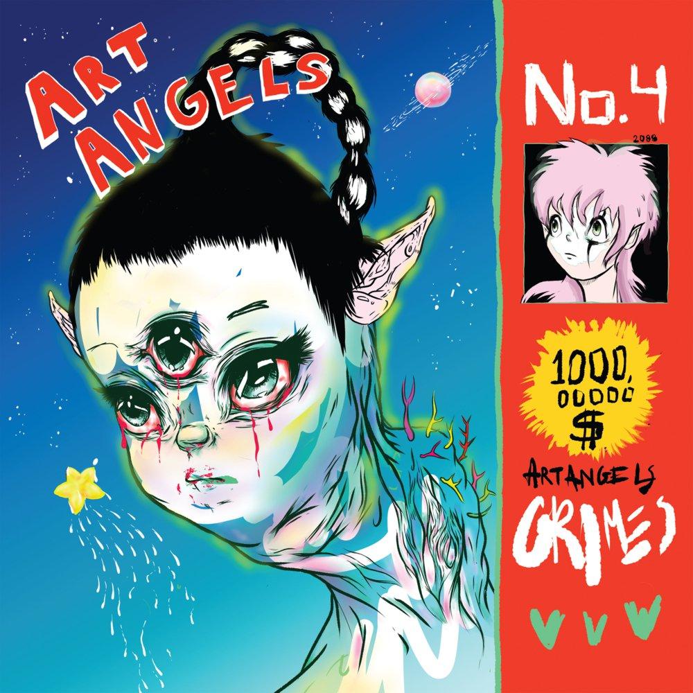 """Grimes dice que su disco """"Art Angels"""" es """"una mierda"""" y """"una mancha en su vida"""""""