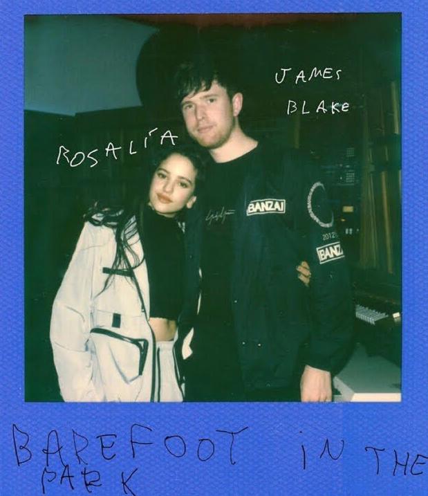 """""""Barefoot In The Park"""": Así es el nuevo vídeo clip de James Blake & Rosalía"""