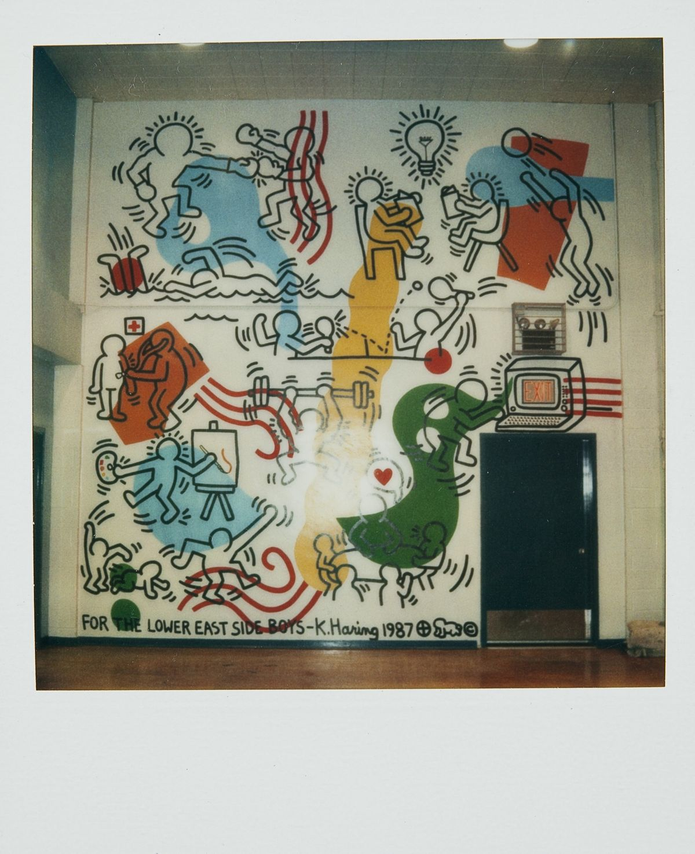 Así fue como este mural de Keth Haring se salvó de ser completamente destruido