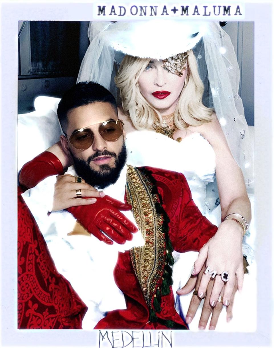 """Madonna se va a """"Medellín"""" junto a Maluma en el primer single de su nuevo disco, """"Madame X"""""""