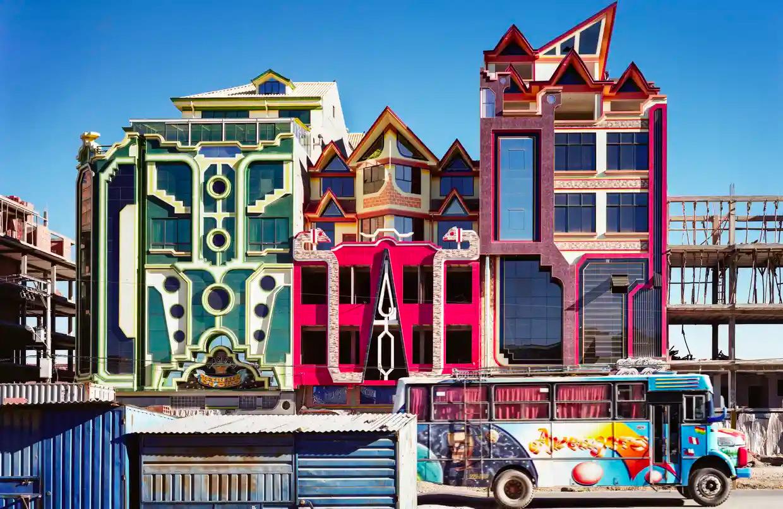 El Alto. Fotografía: Freddy Mamani/Peter Granser/Editorial Taube