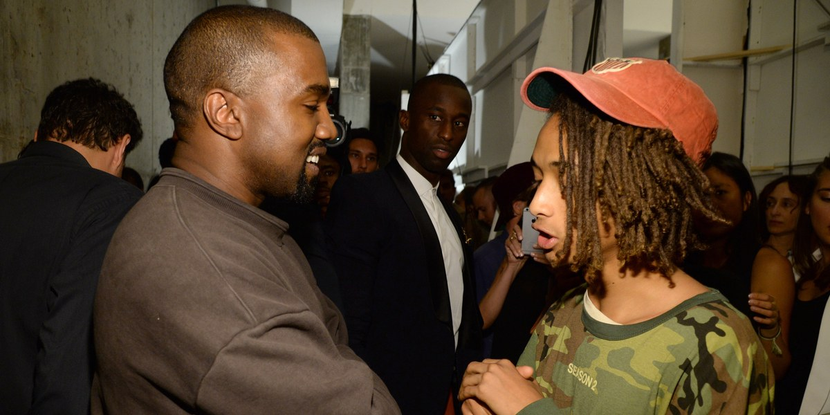 "Jaden Smith interpretará a Kanye West en una serie antológica sci-fi sobre ""universos alternativos"""
