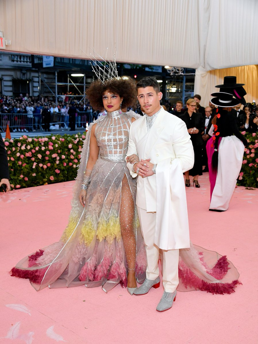 Priyanka Chopra & Nick Jonas. Fotografía: Getty Images