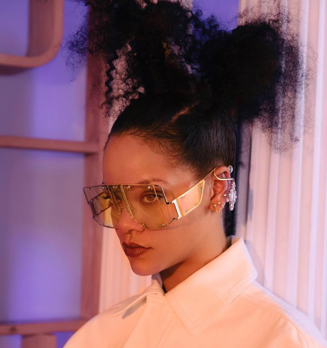 Rihanna lanza el primer video de la campaña de su nueva línea deluxe, FENTY