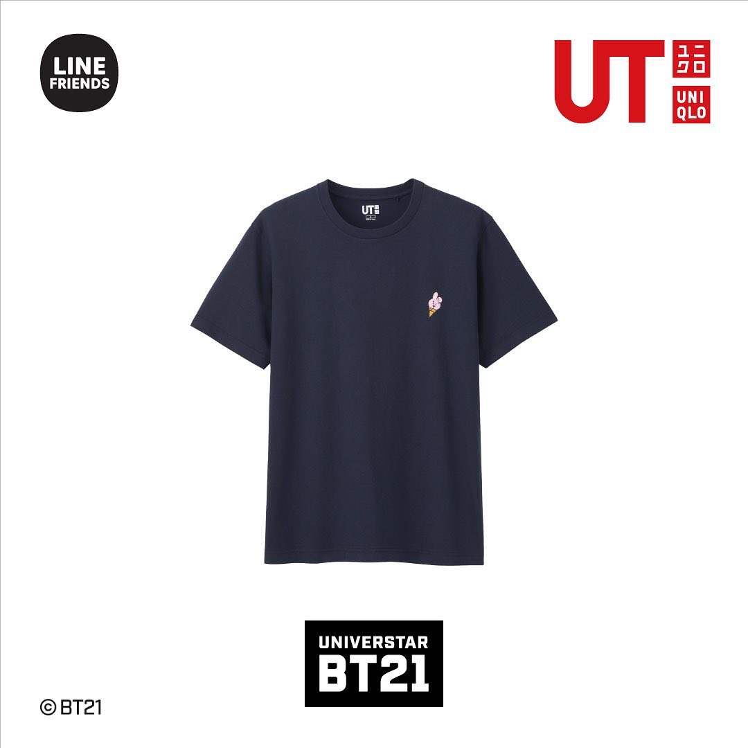 BT21. Fotografía: Uniqlo Instagram