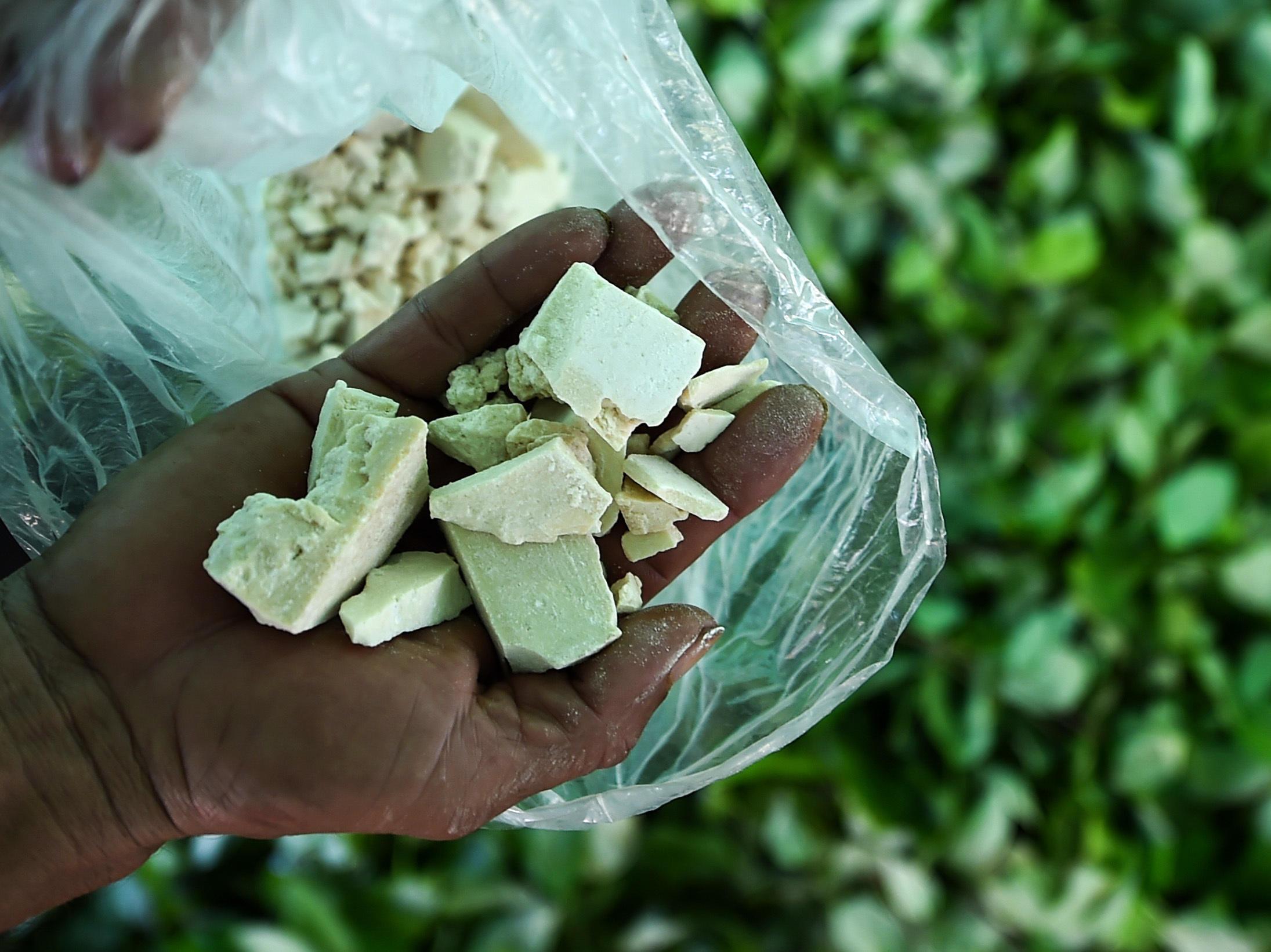 La cuarta parte de la gasolina vendida en Colombia se usa para hacer cocaína