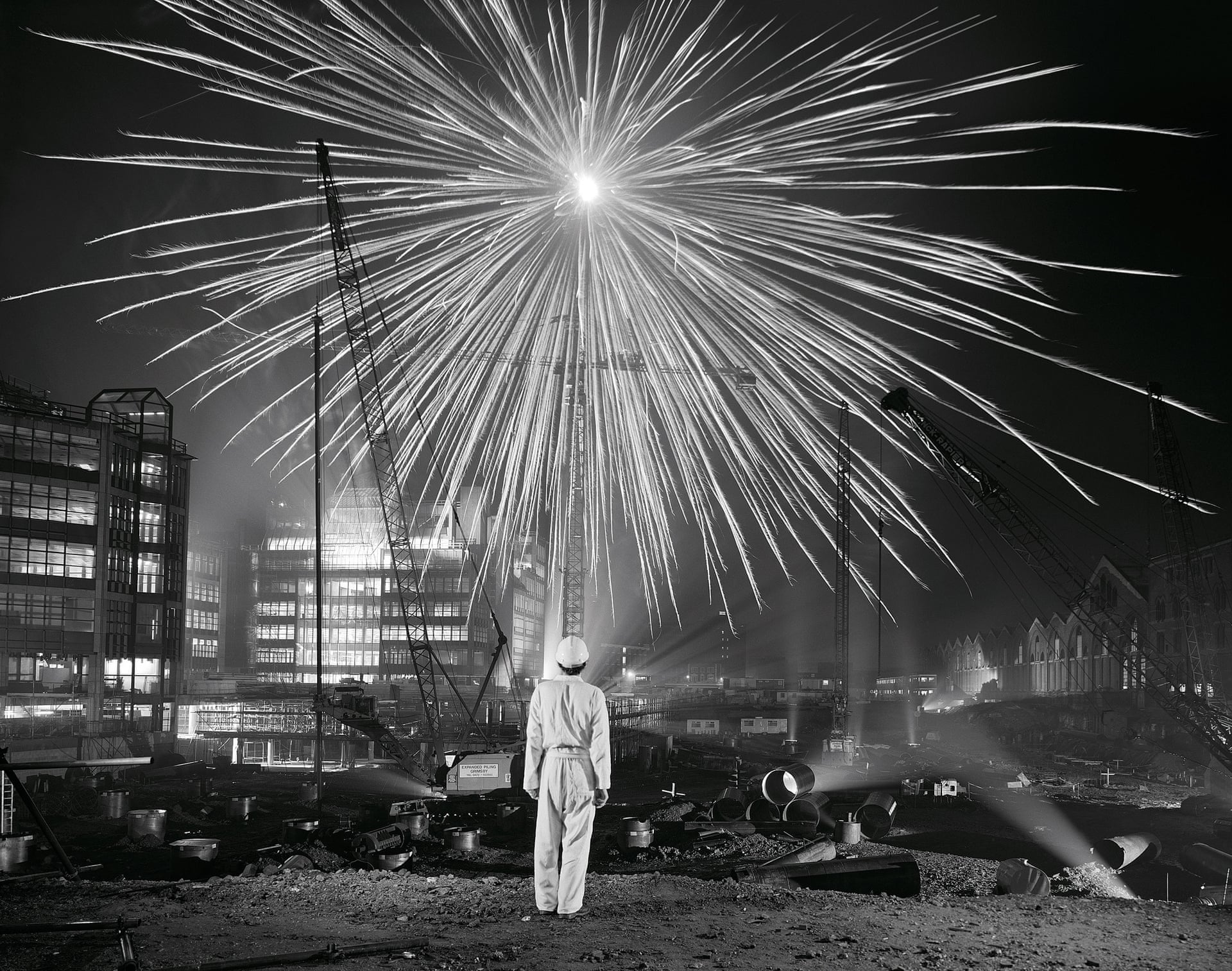 """Big bang broadgate, London, 1986"". Fotografía: Brian Griffin"