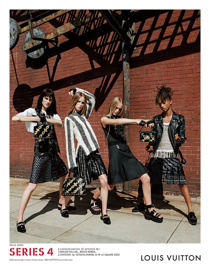 Jaden Smith en la campaña 2016 de Louis Vuitton. Fotografía: Louis Vuitton