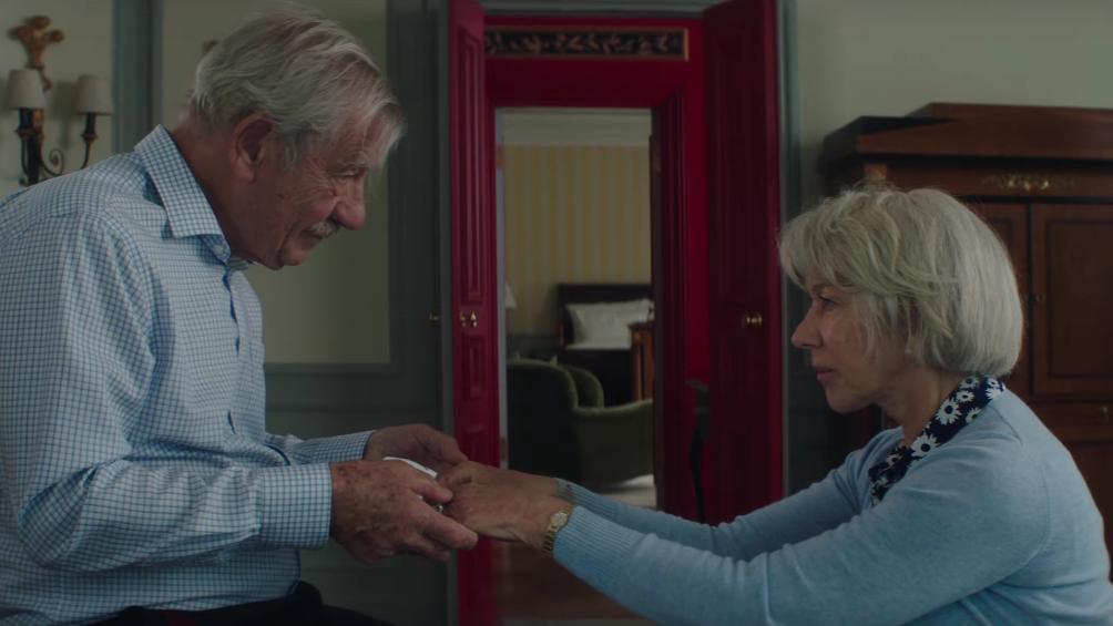 """""""The Good Liar"""": El thriller psicológico protagonizado por Helen Mirren e Ian McKellen que te dejará con los pelos de punta"""