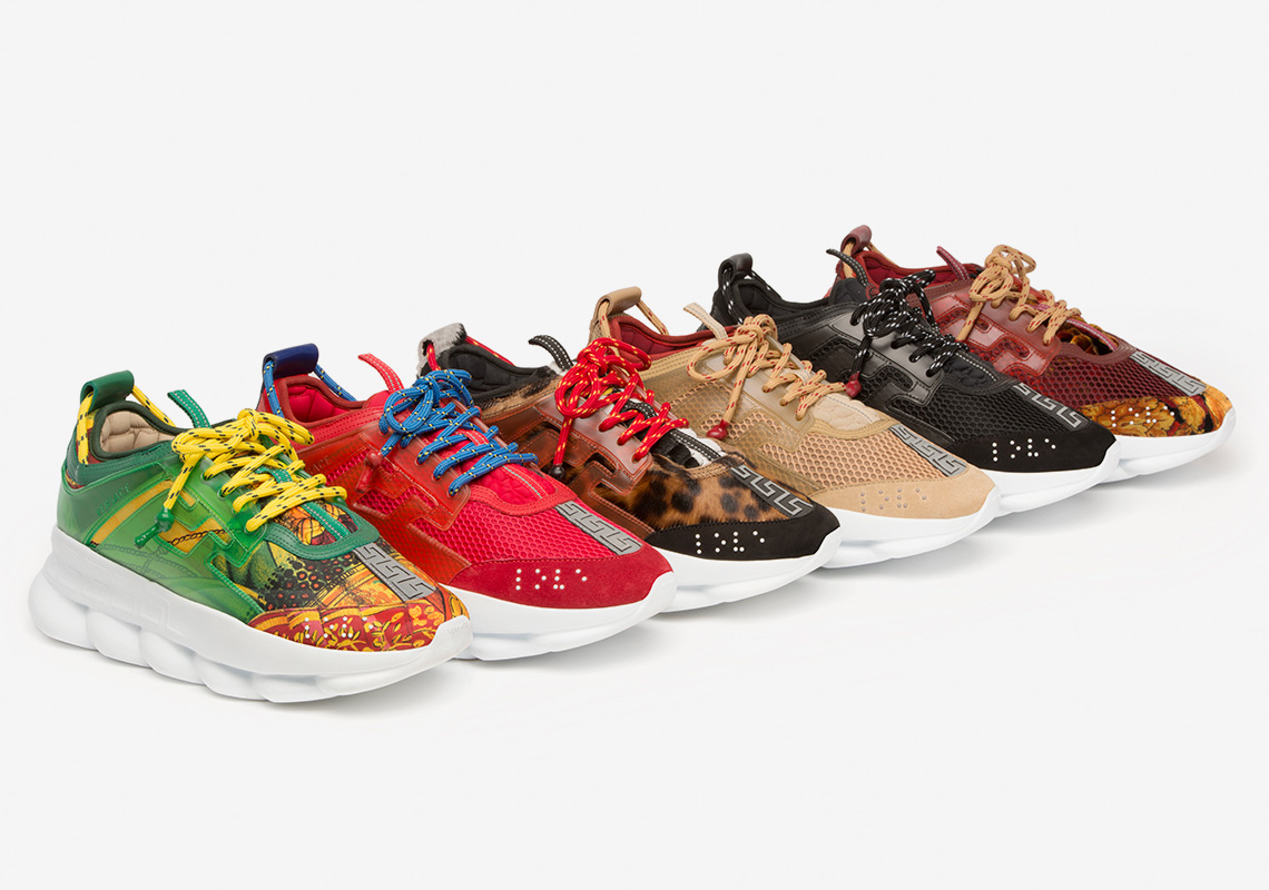 Versace. Chain Reaction: Foto: Sneaker News