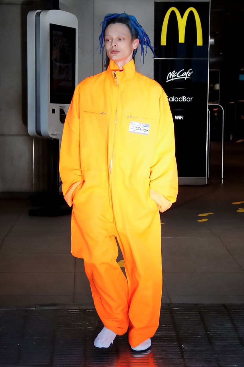 Vetements Spring/Summer 2020. Fotografía: Vetements