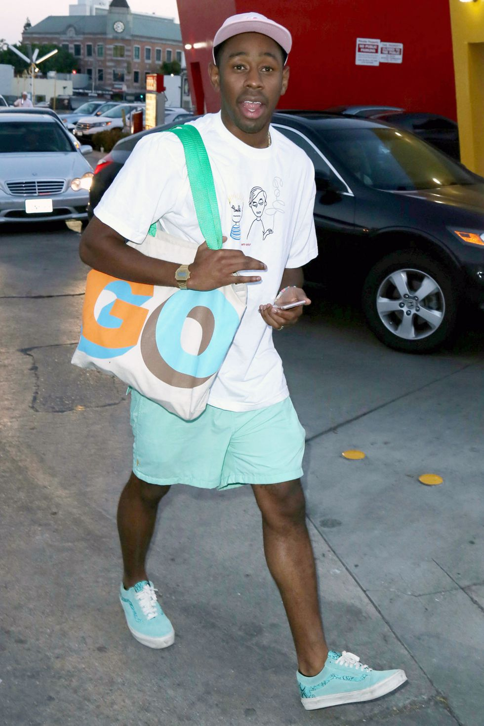 Tyler, The Creator. Fotografía: Getty
