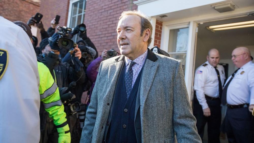 Retirados los cargos del caso de acoso sexual contra Kevin Spacey