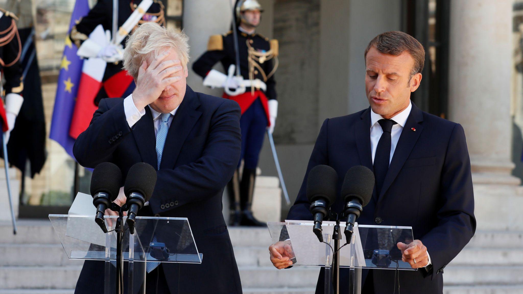 Brexit: Emmanuel Macron le dice a Boris Johnson que no habrá un nuevo acuerdo en los próximos 30 días