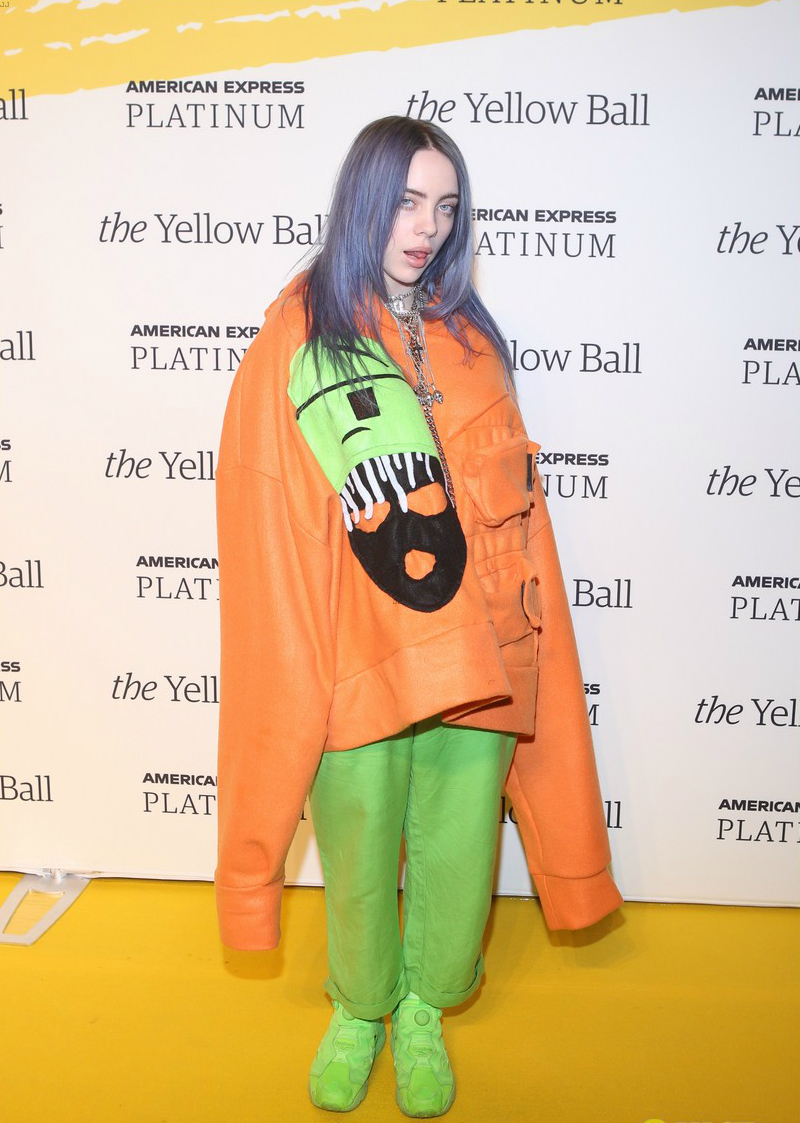 Billie Eilish. Fotografía: Wenn