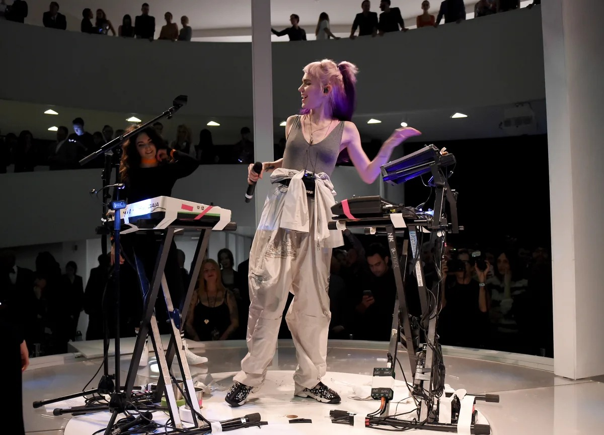 Grimes. Fotografía: Getty Images