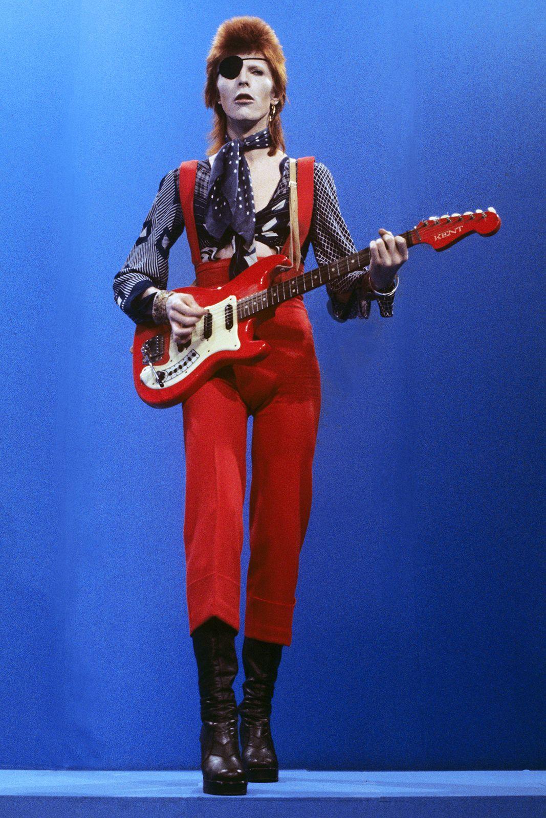 David Bowie. Fotografía: Barrie Schultz