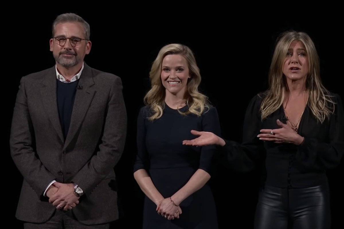 """The Morning Show"": Reese Witherspoon, Jennifer Aniston y Steve Carell protagonizan la nueva serie de Apple TV+"