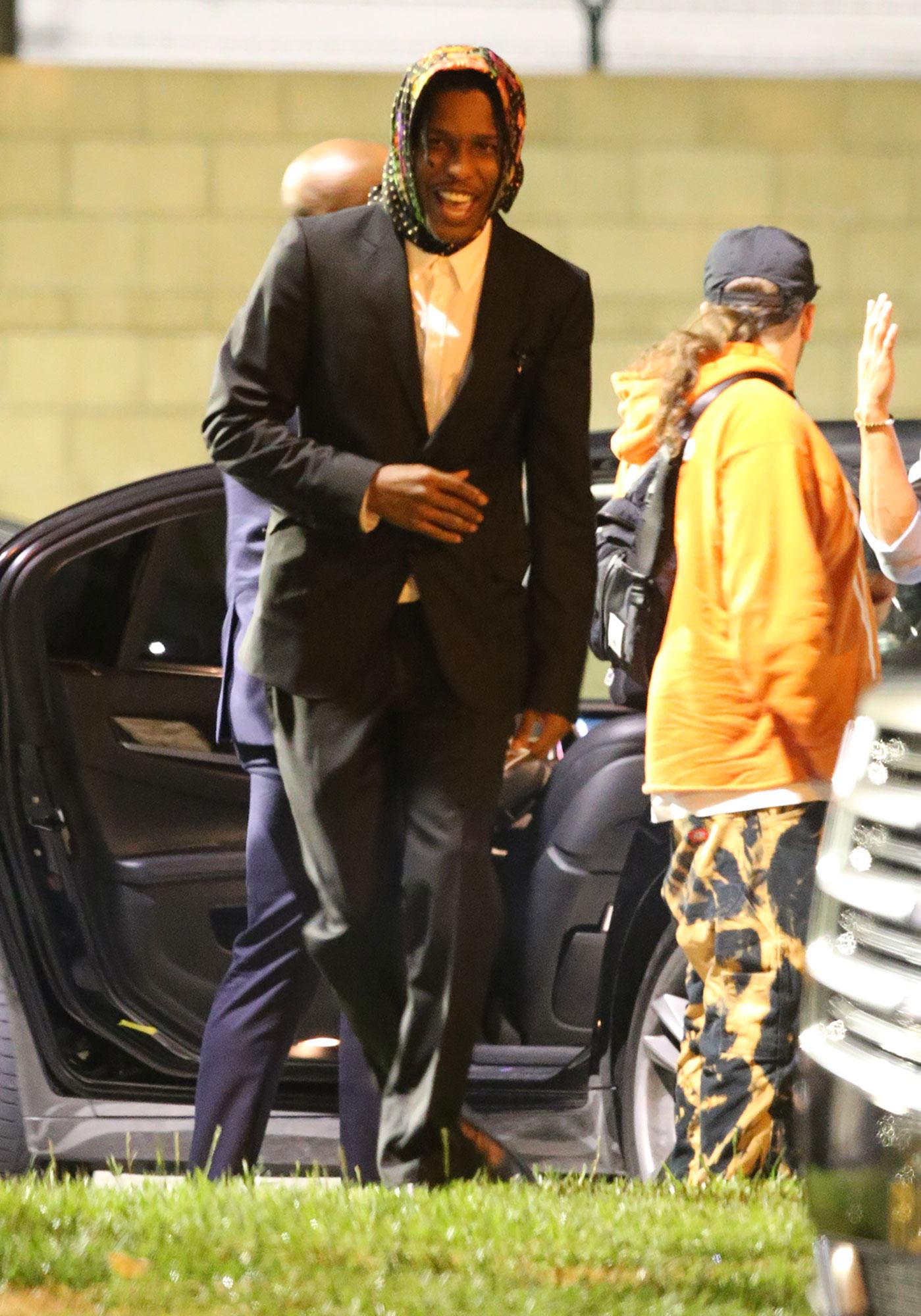 A$AP Rocky visita el Sunday Service de Kanye West