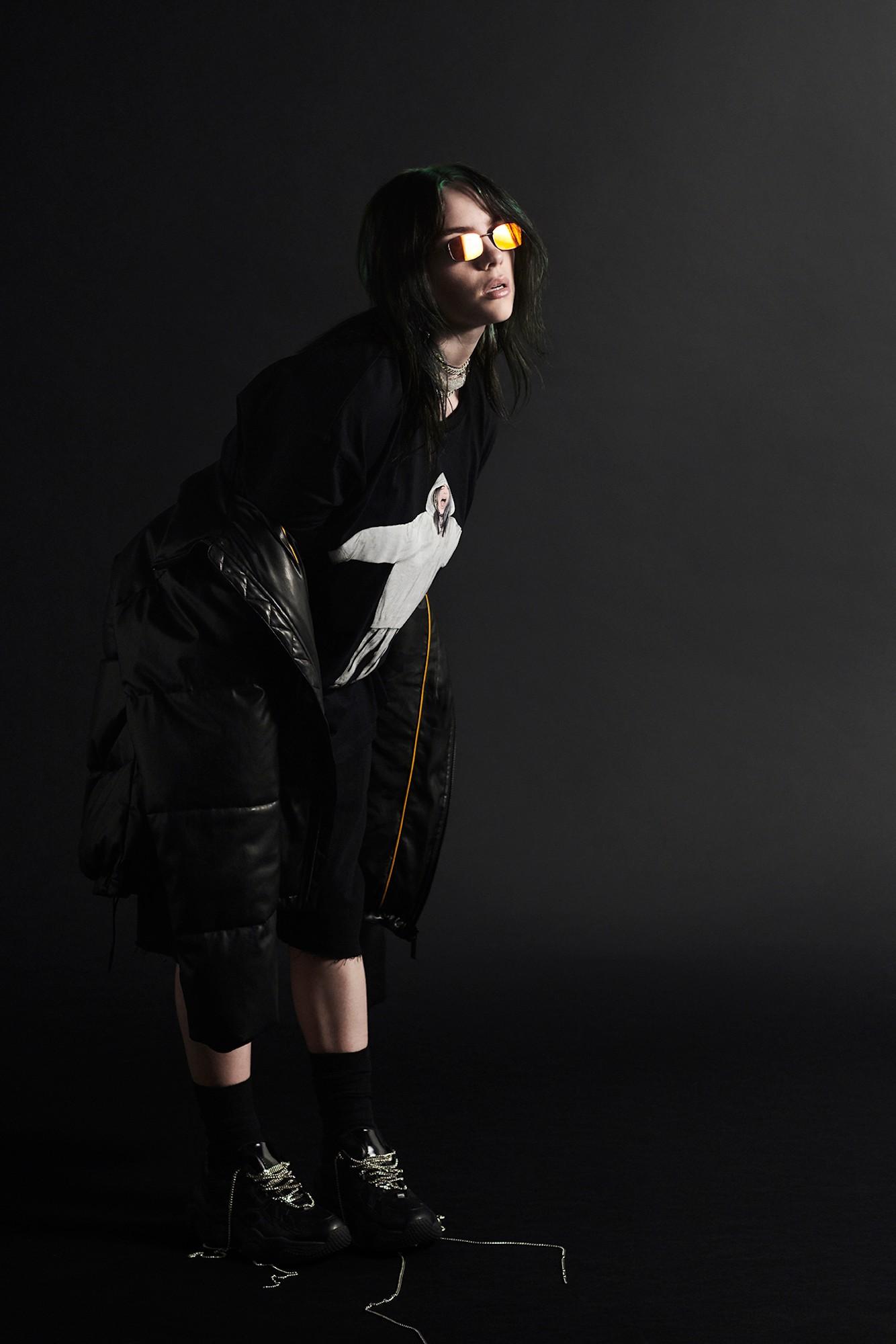 Billie Eilish x Bershka. Fotografía: Bershka