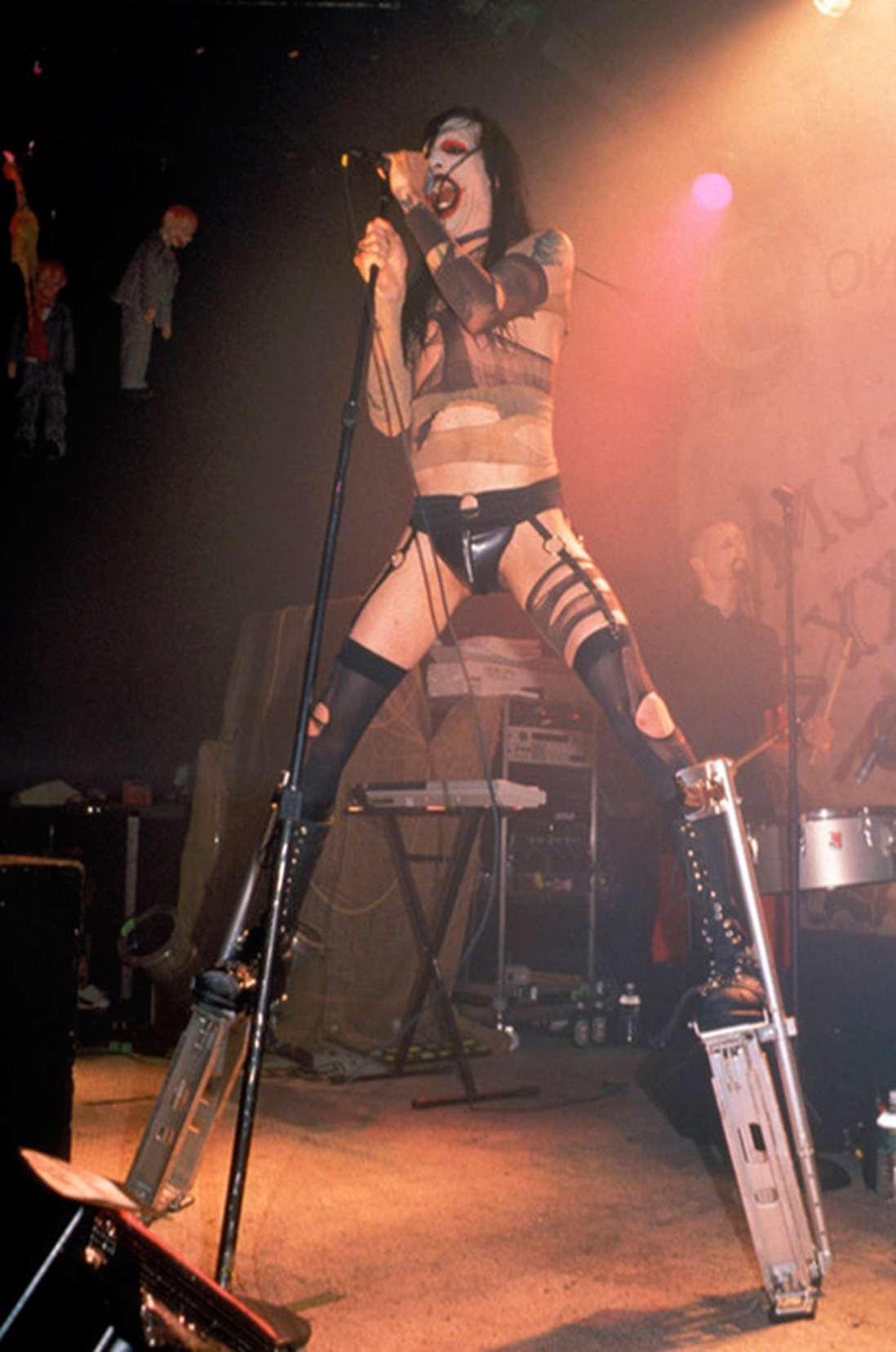 Marilyn Manson. Fotografía: Fuse