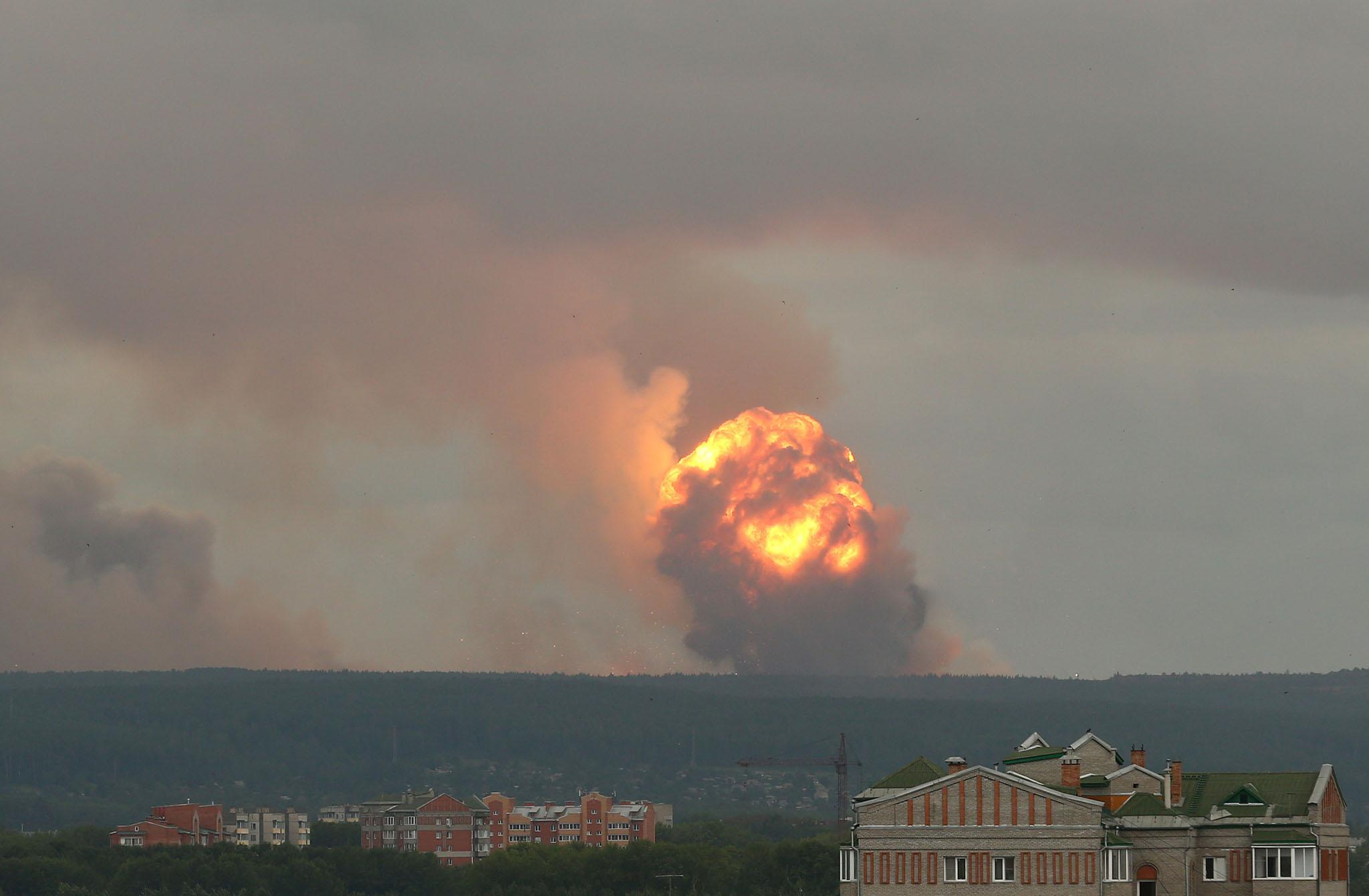 Todo lo que sabemos hasta ahora de la explosión nuclear en Rusia