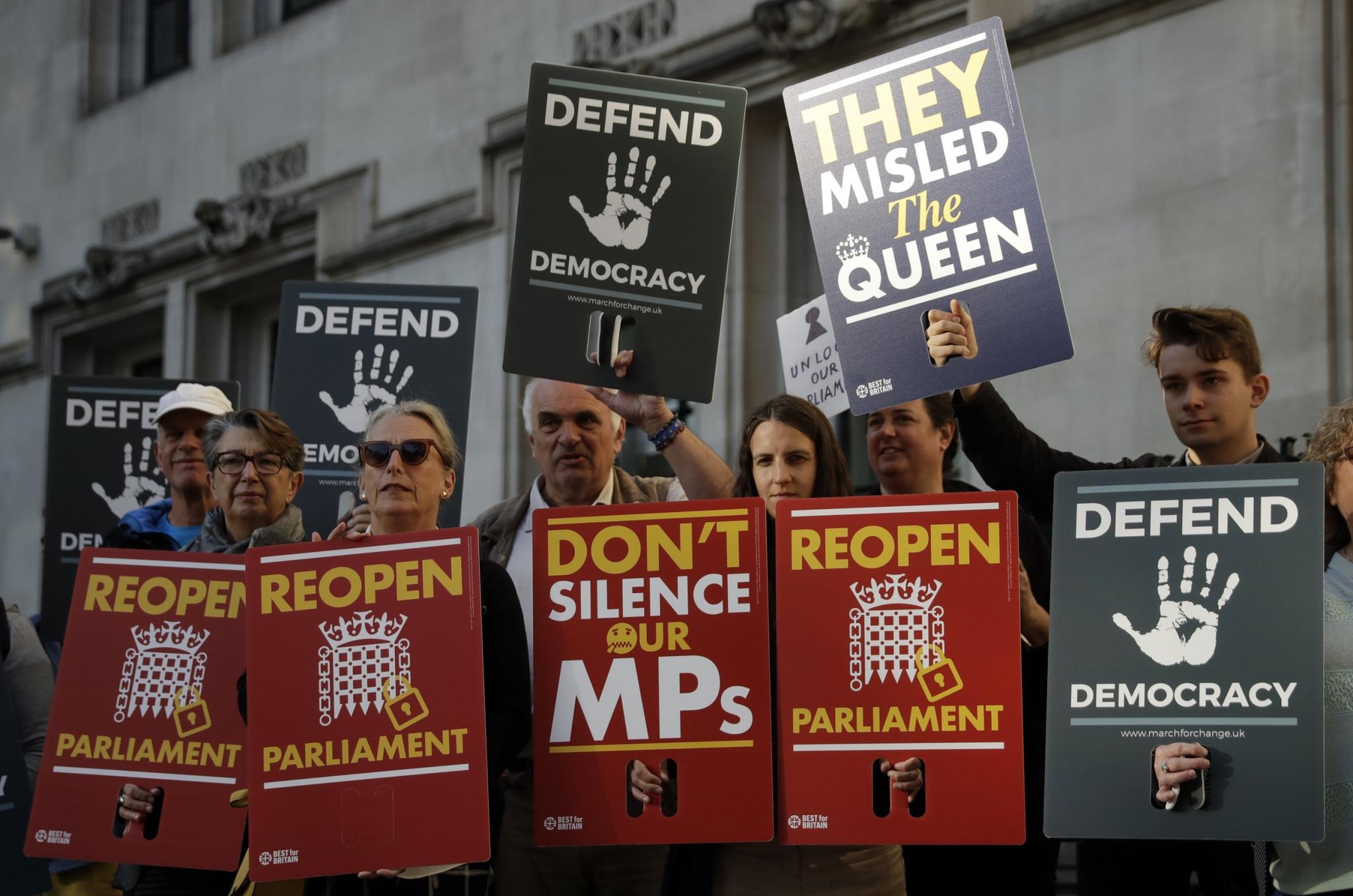 En un golpe para Boris Johnson, la Corte Suprema del Reino Unido declara ilegal y nula la suspensión del Parlamento