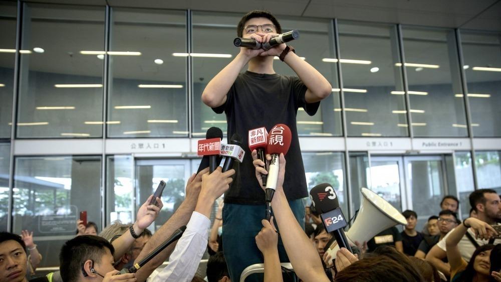 Conoce a Joshua Wong, el líder estudiantil que se enfrenta a China para independizar a Hong Kong