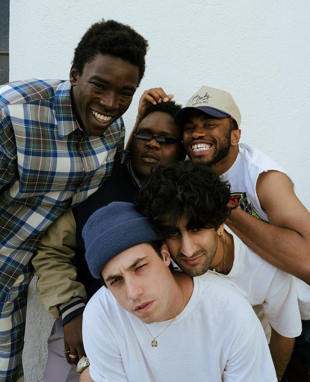 """BROCKHAMPTON hicieron improvisaciones de rap y hablaron de su gira mundial: """"Va a estar increíble"""""""