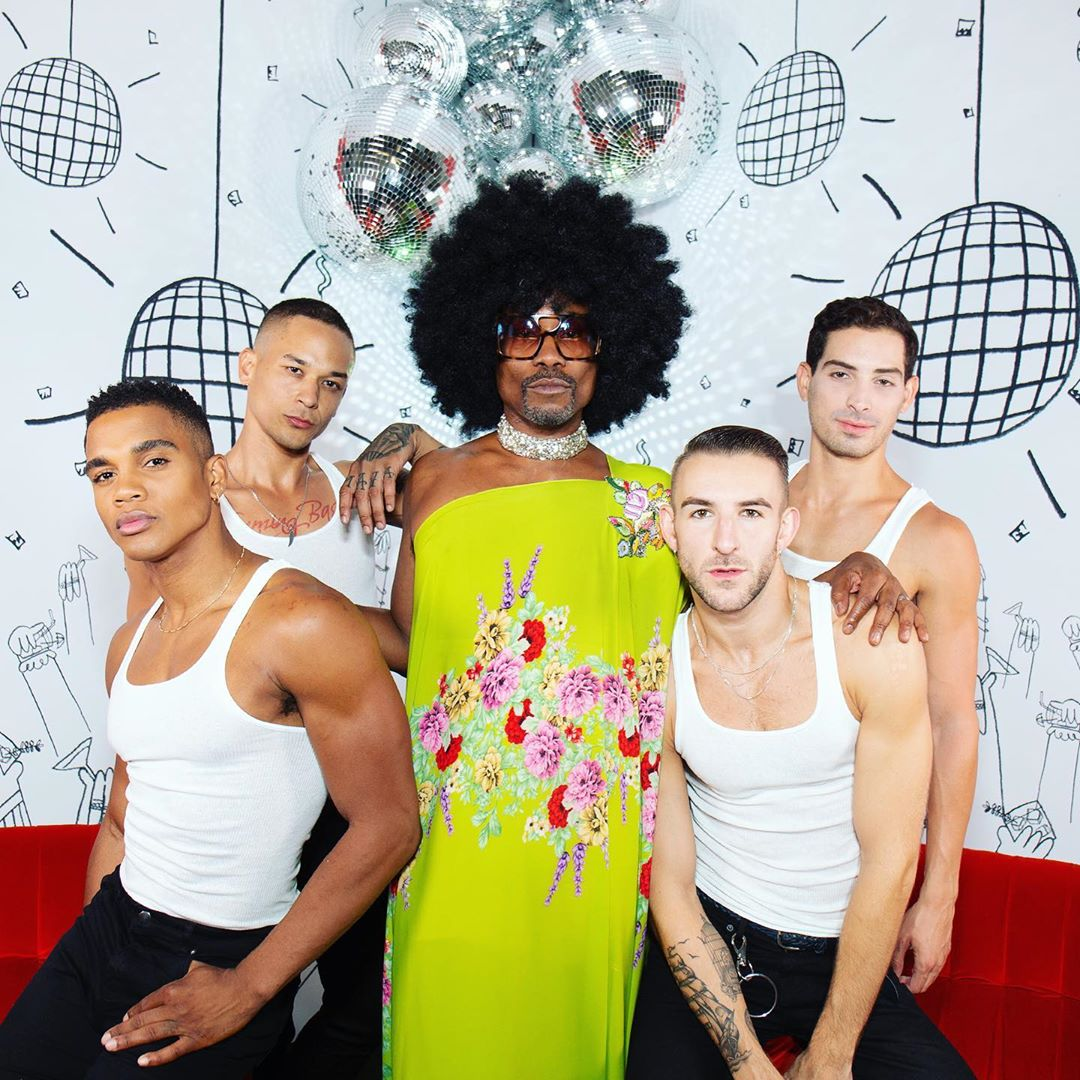 10 looks de Billy Porter que lo convierten en la nueva diva de la moda