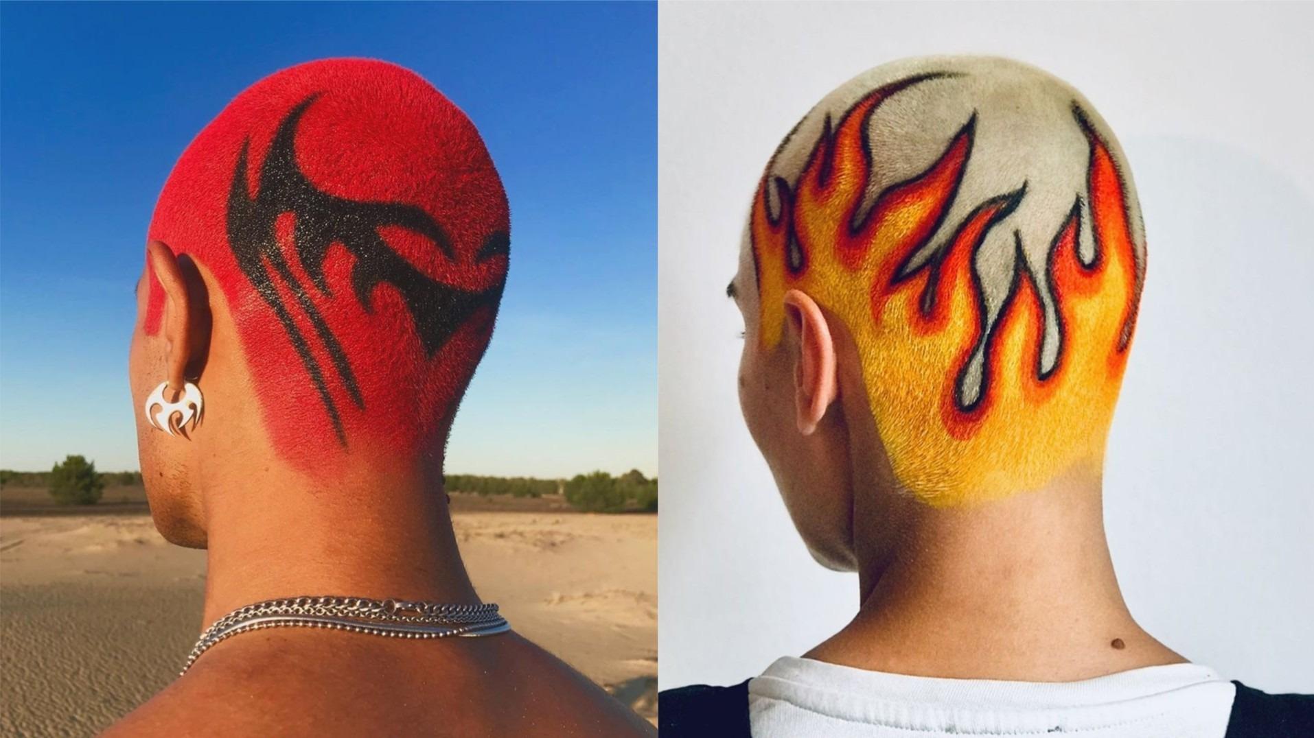 Conoce a Janina Zais, la artista y hair stylist alemana que crea diseños radicales y virales en el cabello