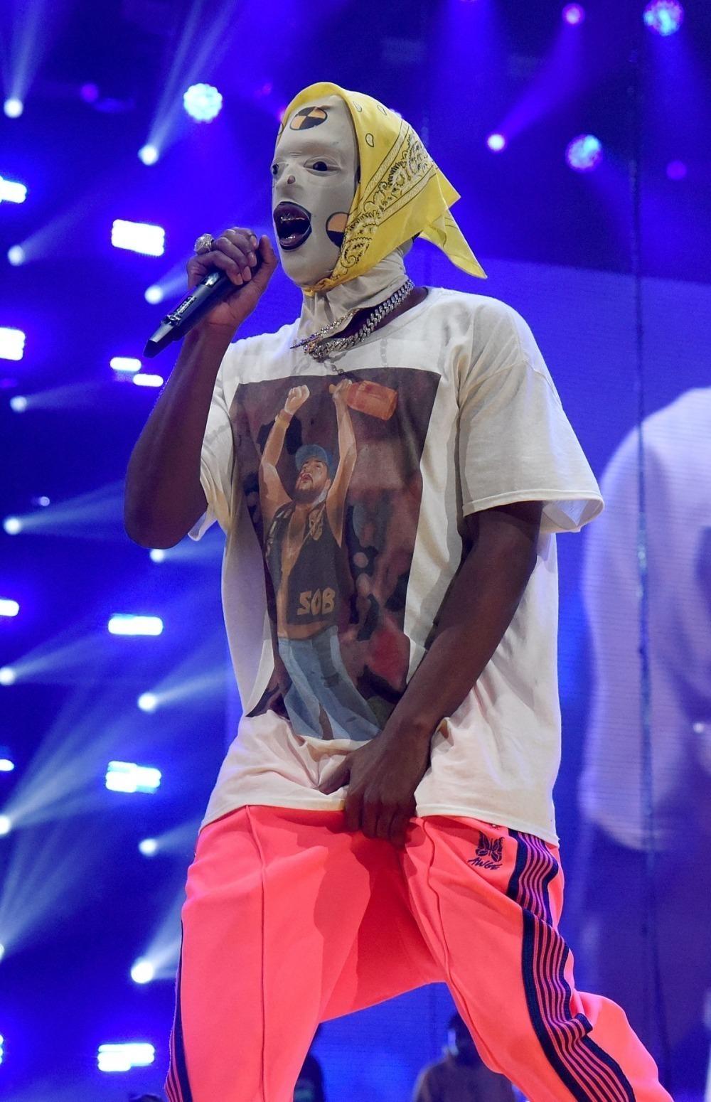 10 looks de A$AP Rocky que lo convierten en el fashionista del hip-hop