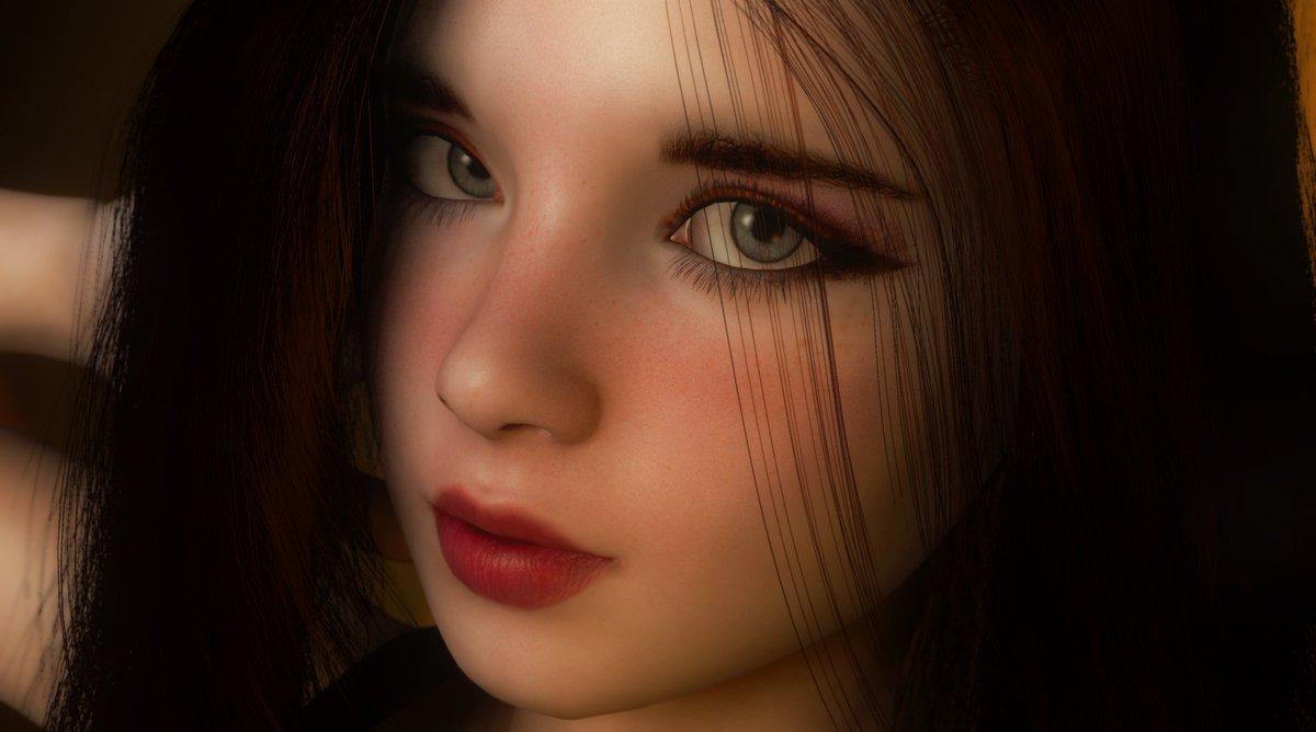 Una de las modelos realizadas con VAM. Fotografía: Twitter